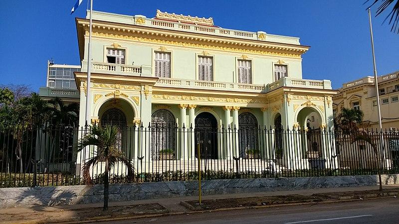 Edificio del Ministerio de Relaciones Exteriores de Cuba