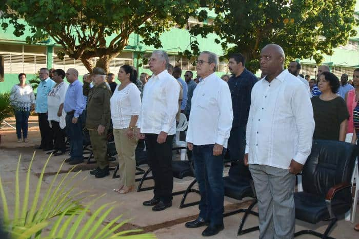 Díaz-Canel asiste a la inauguración de nueva sede de la Universidad de Artemisa