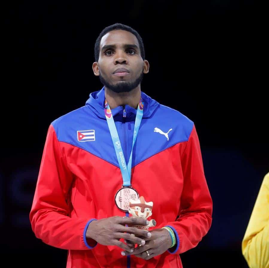 Fotografía de archivo del deportista cubano, Yunior Reytor. EFE/ Christian Ugarte/Archivo