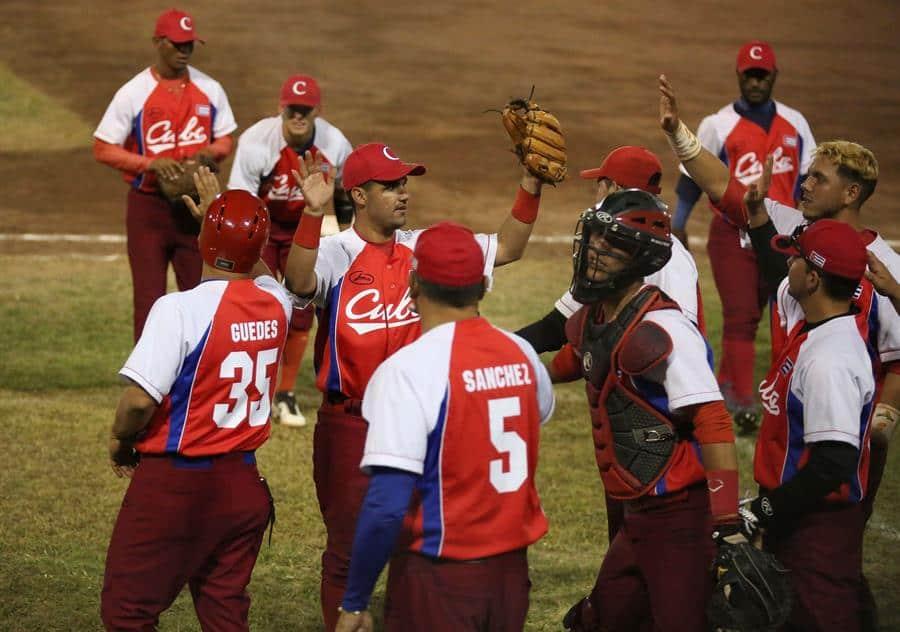 Cuba blanquea 4-0 a Venezuela en la Súper Ronda Sub'23 de béisbol
