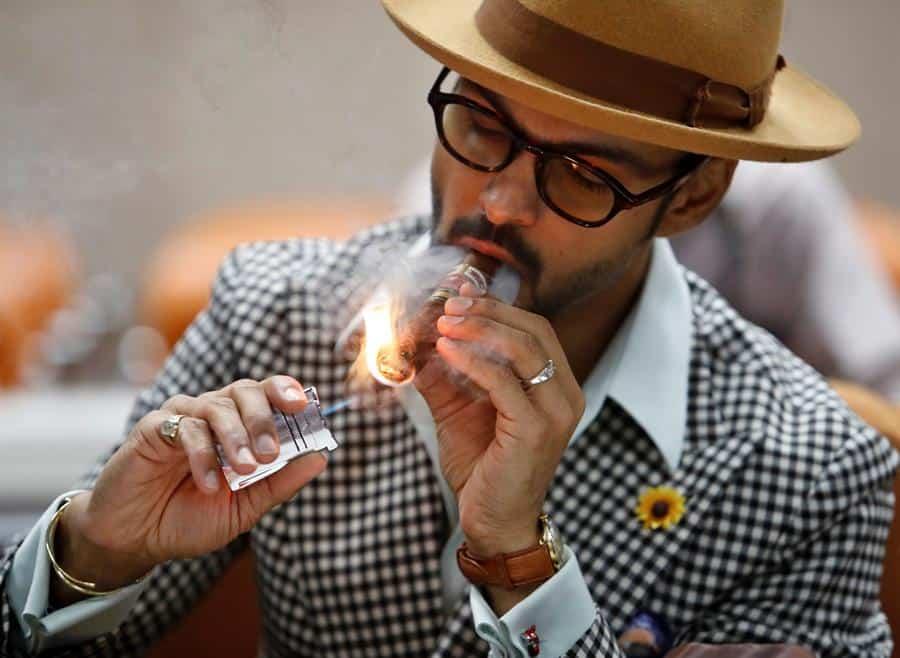 En España y China fuman más puros cubanos