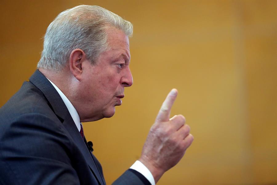Al Gore insta a acelerar sostenibilidad contra coronavirus
