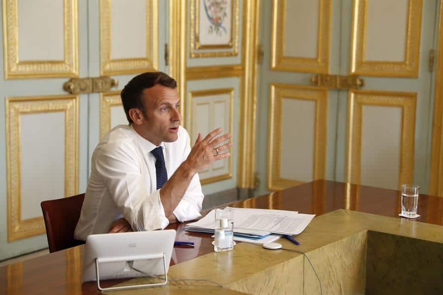 Macron defiende la OMS en reunión de líderes del G7 presidida por Trump