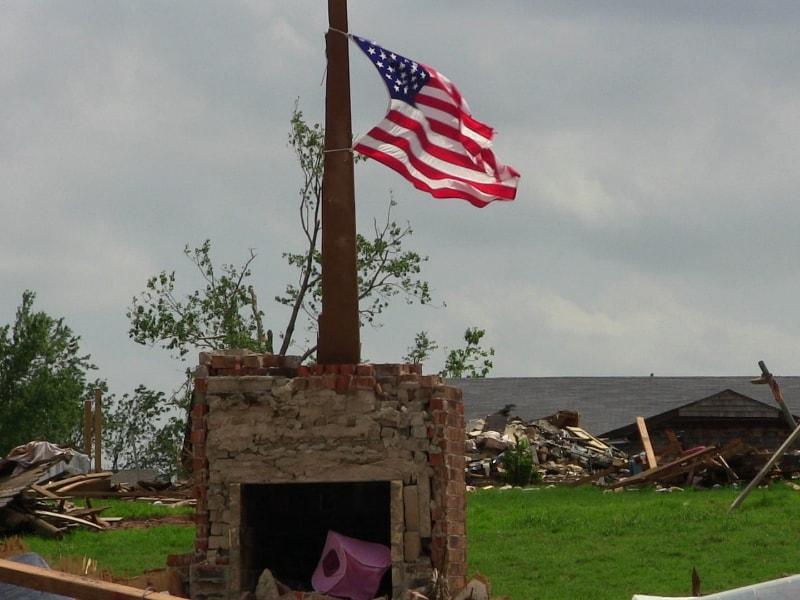 Tornados en el sur de EEUU