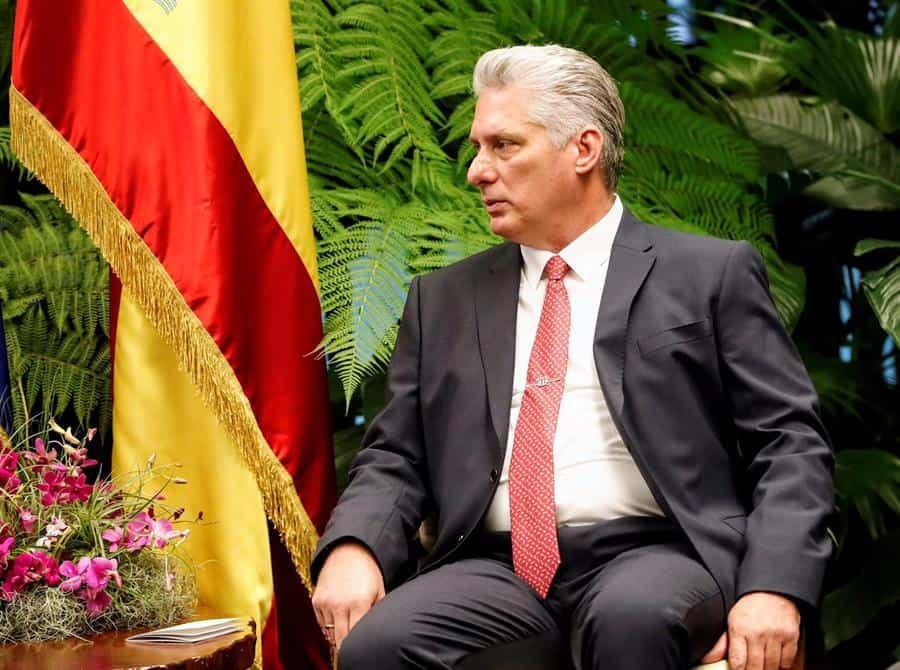 Díaz-Canel lamenta la muerte de Julio Anguita