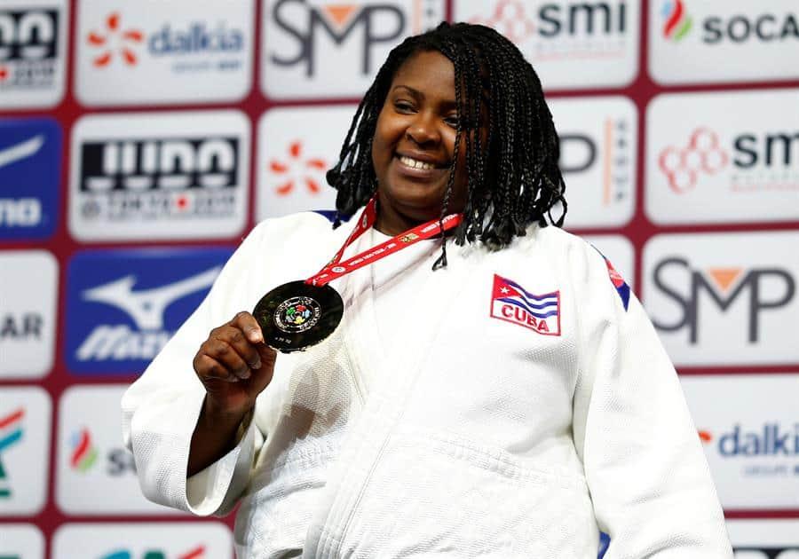 Judocas cubanos encabezados por la campeona Idalys Ortiz irán a torneo en Catar