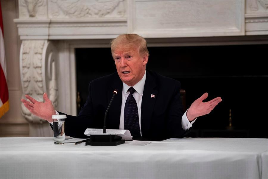 Trump amenaza con posible salida de EE.UU. de la OMS