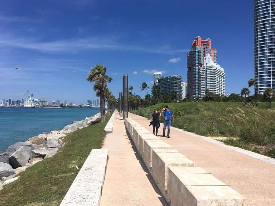 Comienza el retorno de los turistas a Miami Beach