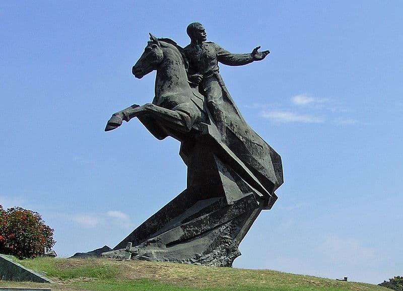 Monumento a Antonio Maceo en Santiago de Cuba