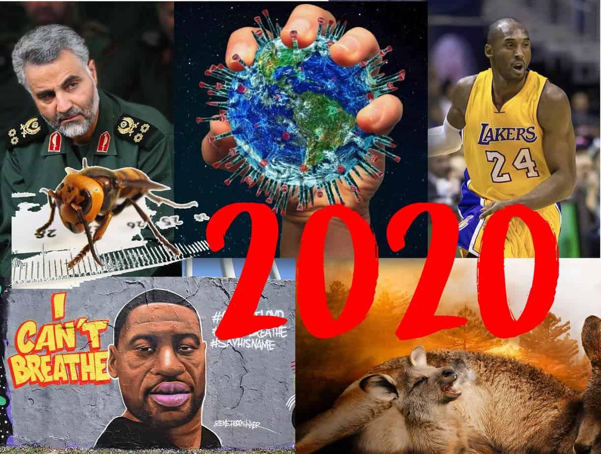 Así va el año 2020