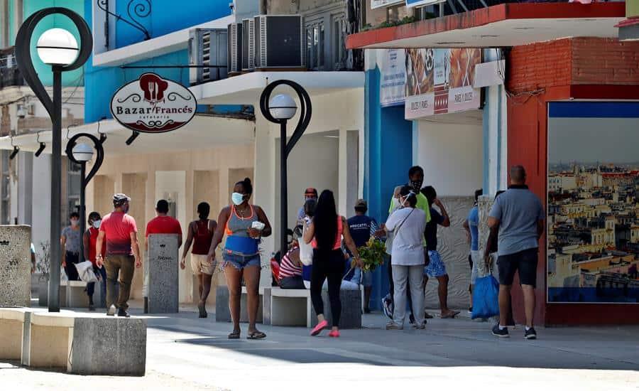 Cuba agrega 48 nuevos contagios de COVID-19, casi todos en La Habana