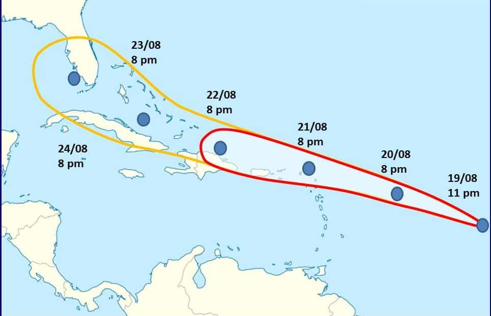 Depresión tropical 13