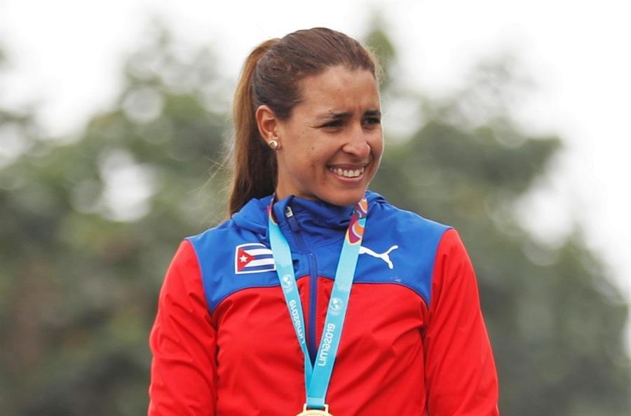 Arlenis Sierra, la primera cubana en asistir a un mundial durante pandemia