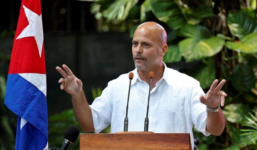Gerardo Hernández al frente de los Comités de Defensa de la Revolución