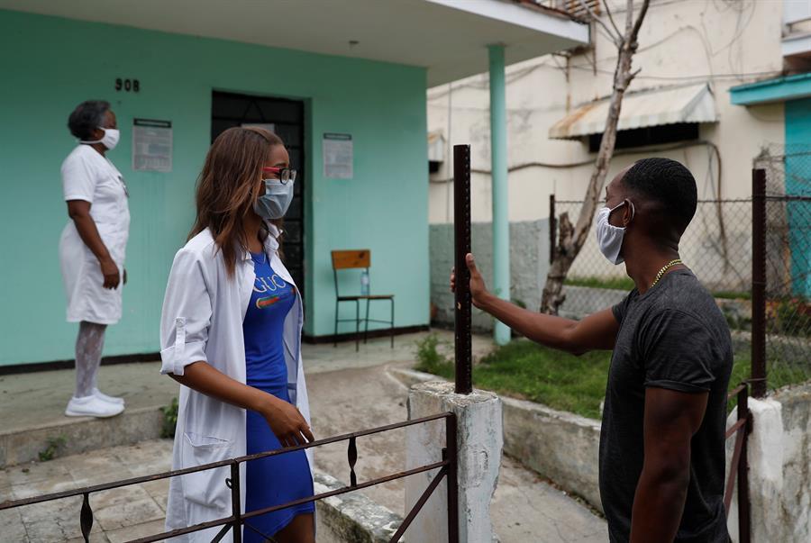 Cuba muestra tendencia al descenso de contagios