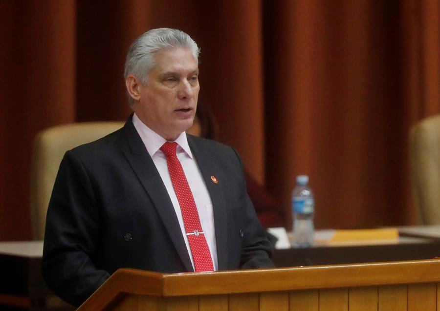 El presidente cubano acusa a Pompeo de promover la intervención contra Venezuela
