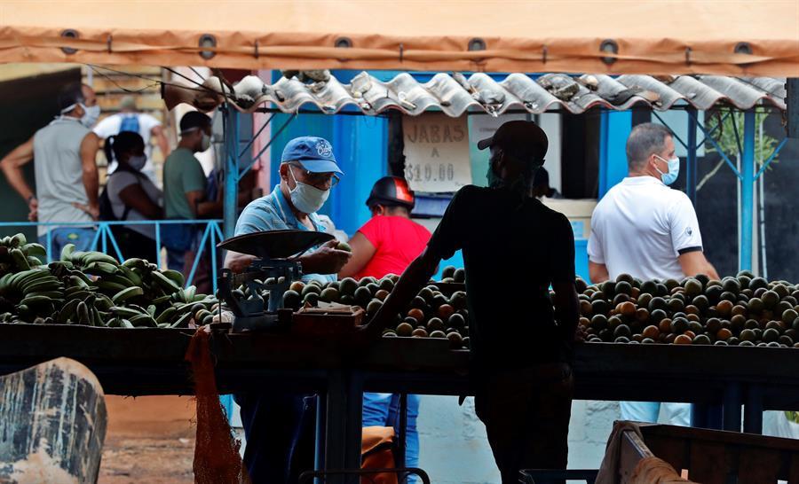Cuba registra 5 casos de COVID-19, su cifra diaria más baja desde julio