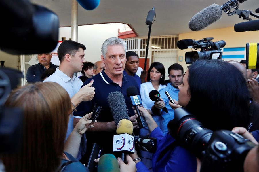 Díaz-Canel felicita a Luis Arce por su victoria en Bolivia