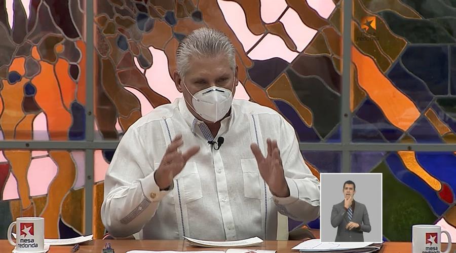 Díaz-Canel felicita al MAS por resultado de elecciones en Bolivia
