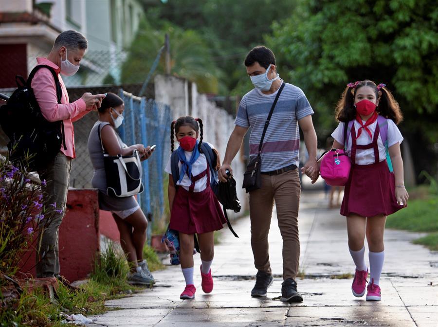 Cuba abre la semana con la vuelta a clase en La Habana