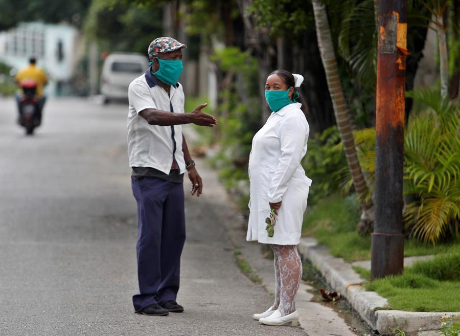 Cuba reporta 76 nuevos contagios de covid-19 y acumula 8.000 desde marzo