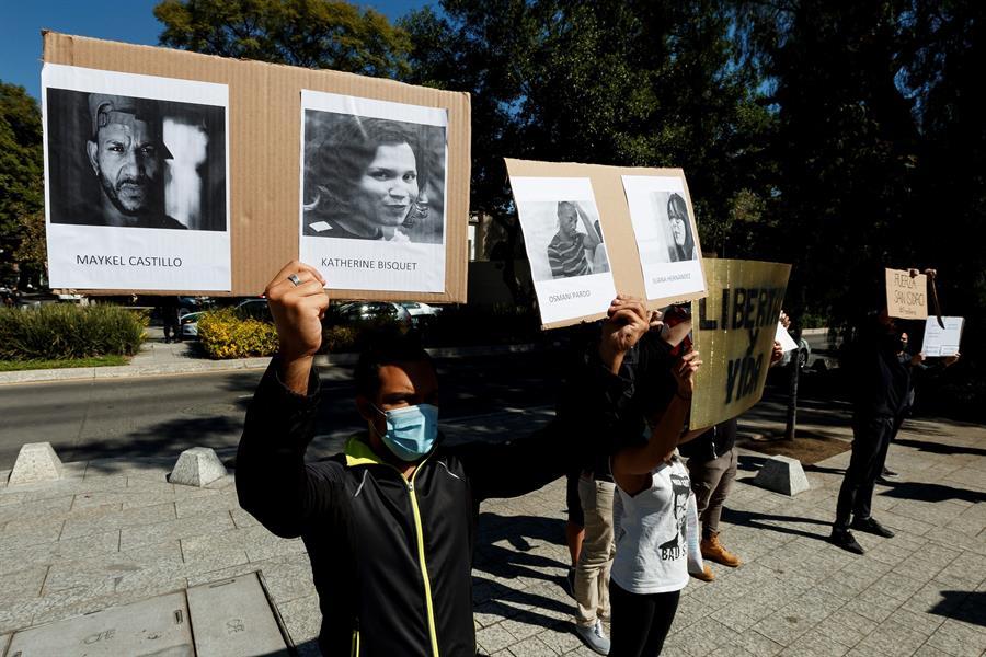 Cubanos en México condenan represión al Movimiento San Isidro