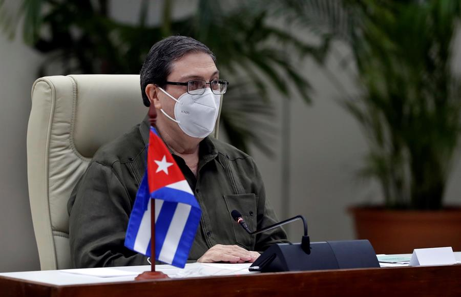 Los cancilleres de Cuba y España acuerdan impulsar el diálogo político