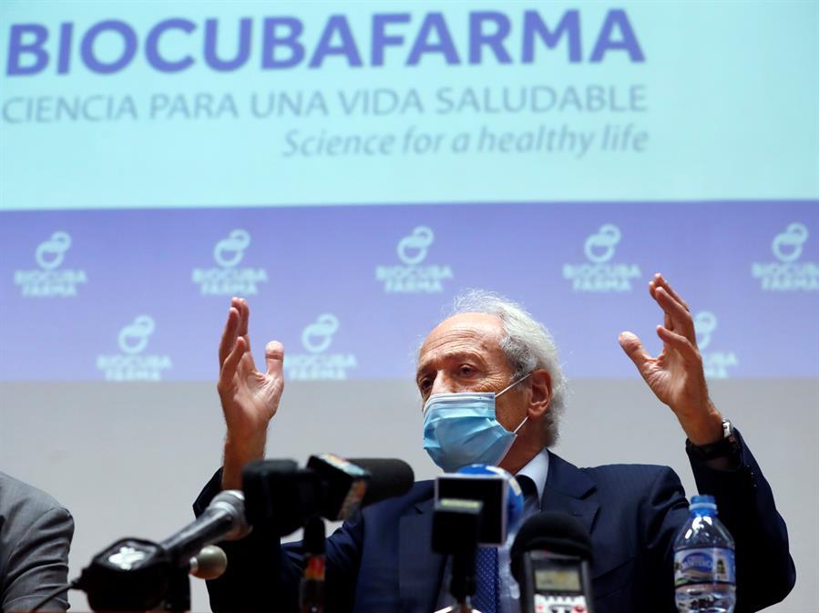 ONG europea evalúa financiación para vacuna cubana contra la COVID