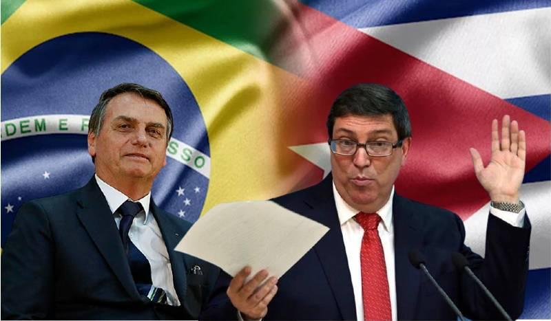 Canciller de Cuba criticó a Bolsonaro