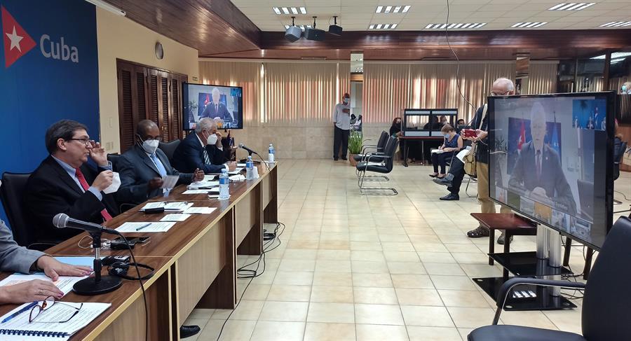 Bruno Rodríguez participa en el tercer Consejo Conjunto entre Cuba y la Unión Europea