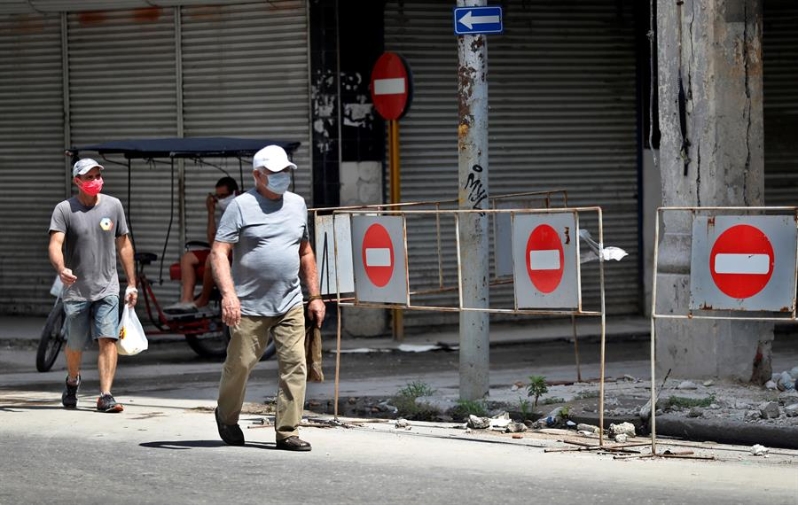 Cuba marca récord de contagios diarios con 344 nuevos casos de COVID-19