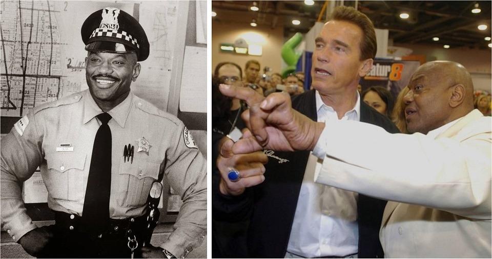 Sergio Oliva se hizo amigo de Schwarzenegger